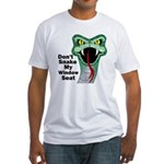Snake My Seat Fitted T-Shirt