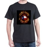 "Texas Barbeque ""A Way of Life"" Black T-Shirt"