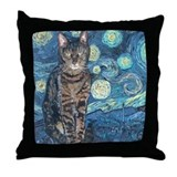 &quot;Starry Night Life&quot; Throw Pillow