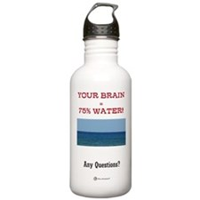 Your Brain On Water Bottle 1.0L
