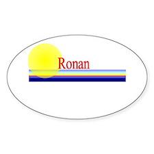Ronan Oval Decal