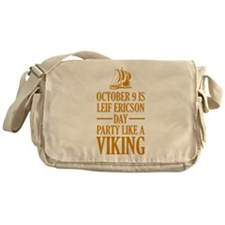 Leif Ericson Day - Party Like A Viking Messenger B