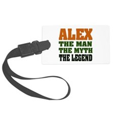 Alex The Legend Luggage Tag