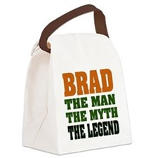 Brad The Legend Canvas Lunch Bag