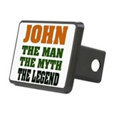 John The Legend Rectangular Hitch Cover