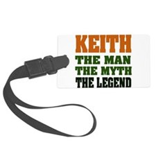 Keith The Legend Luggage Tag