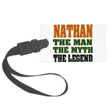 Nathan The Legend Luggage Tag