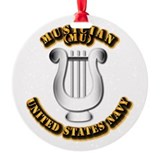 Navy - Rate - MU Ornament
