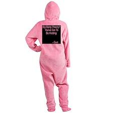 wht_Big_Bang_Theory_God.png Footed Pajamas