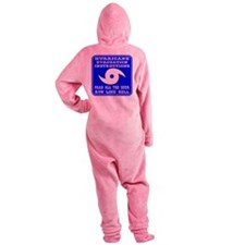 wht_Hurrican_Evac_Instructions.png Footed Pajamas