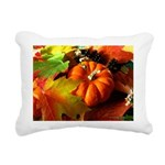 .elements of autumn. Rectangular Canvas Pillow