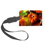 .elements of autumn. Large Luggage Tag