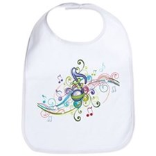 Music in the air Bib