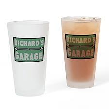 Personalized Garage Drinking Glass