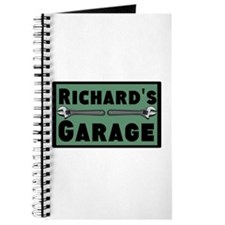 Personalized Garage Journal