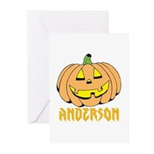 Personalized Halloween Greeting Cards (Pk of 10)