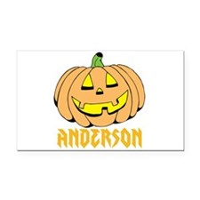 Personalized Halloween Rectangle Car Magnet