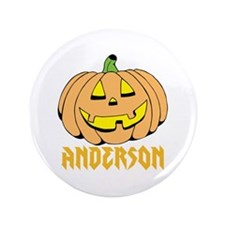 "Personalized Halloween 3.5"" Button (100 pack)"