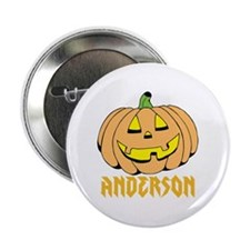 "Personalized Halloween 2.25"" Button"