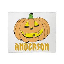 Personalized Halloween Throw Blanket