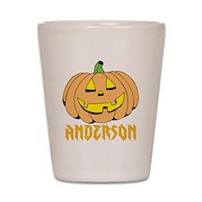 Personalized Halloween Shot Glass