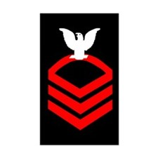 Chief Petty Officer<BR> Sticker 2