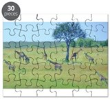 Giraffe Meadow Puzzle