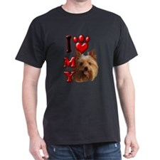 I Love My Yorkie T-Shirt