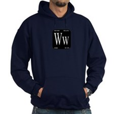 White Widow Black Hoodie
