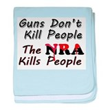 The NRA Kills People baby blanket