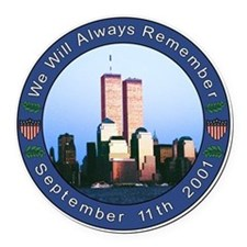 9-11 Car Magnet