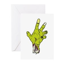 Zombie Hand Greeting Cards (Pk of 10)