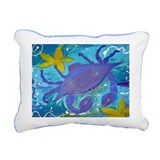Island Crab lumbar throw pillow from art
