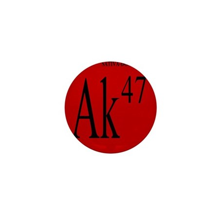 AK-47 BLACK Mini Button