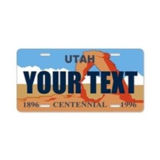 Utah - Centennial license plate replica