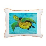 Sea Turtle Rectangular Canvas Pillow