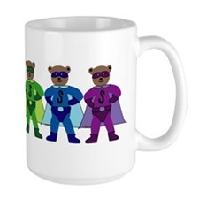 Rainbow Pride Super Bears Mug