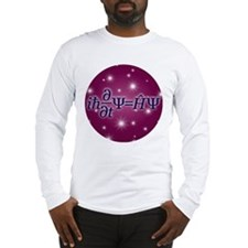 Starry Schrodinger Long Sleeve T-Shirt
