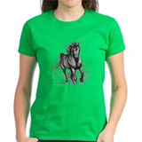 'Coming Through' Horse Tee