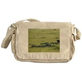 buffalo field kenya collection Messenger Bag