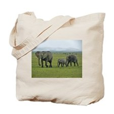 mara elephant family kenya collection Tote Bag