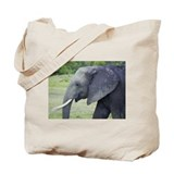 juvenile mara elephant kenya collection Tote Bag