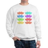Rainbow Mustaches Jumper
