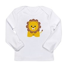 Cute Baby Lion Long Sleeve Infant T-Shirt