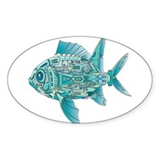 Robot Fish Decal