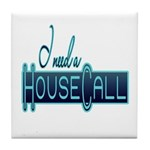 House Call Tile Coaster