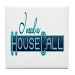 House Call Tile Coaster