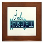 House Call Framed Tile