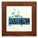 House Call Framed Tile