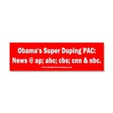 Obama's PAC Car Magnet 10 x 3